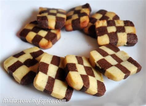 checkerboard cookiesbiscuits hildas touch  spice