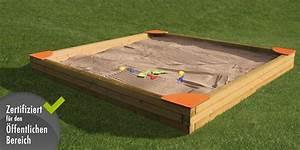 Rolladenkasten Abdeckung Holz : sandkasten din en 1176 sandkasten 4 eckig sandkiste holzsandkasten vom spielger te fachh ndler ~ Yasmunasinghe.com Haus und Dekorationen