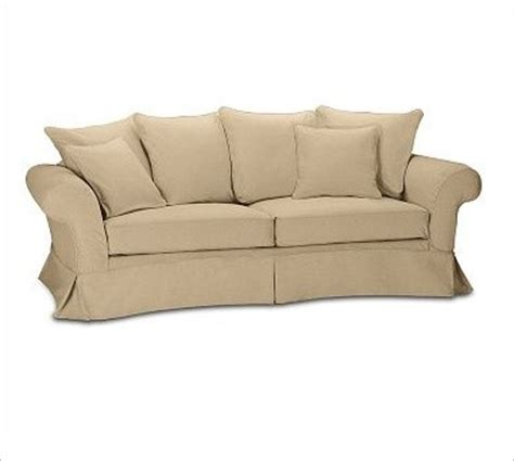charleston grand sofa slipcover textured basketweave
