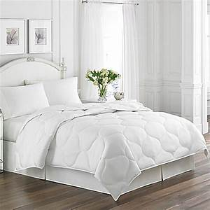 buy laura ashleyr trellis quilted down alternative queen With bed bath and beyond down comforter queen