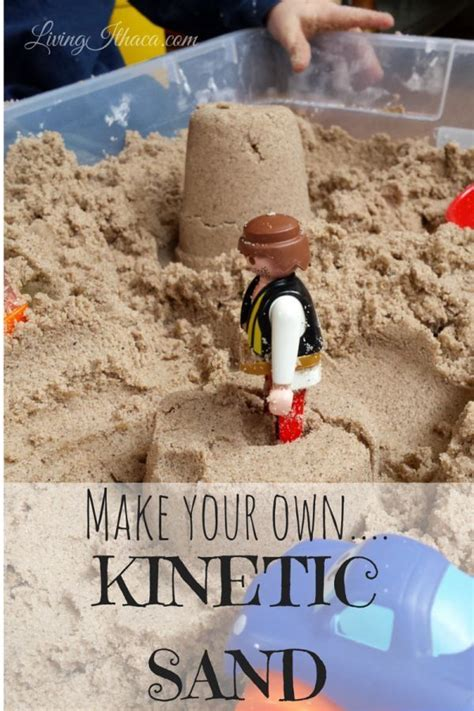 diy kinetic sand make your own kinetic sand lesson plans