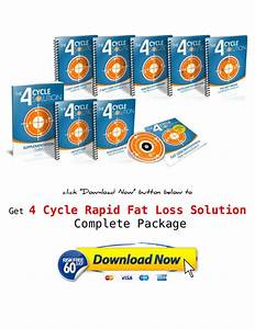 Shaun Hadsall  4 Cycle Fat Loss Solution Pdf  Ebook