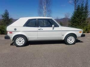 Feature Listing  1983 Volkswagen Rabbit Convertible