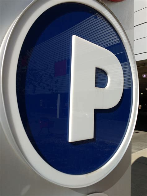 P for Parking Sign Picture | Free Photograph | Photos ...