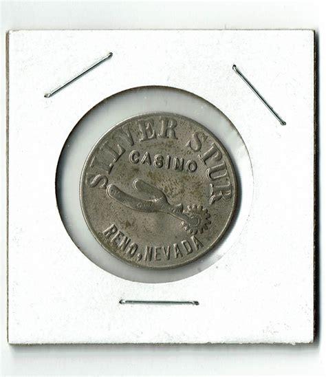 silver spur casino reno nevada  premium token chiptoken