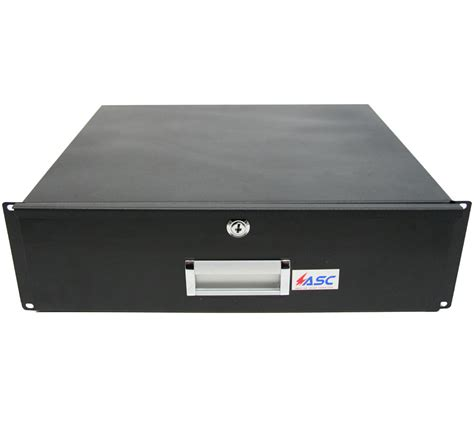audio video storage cabinet pro audio dj or server rack 19 quot 3u lock drawer secure