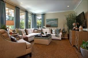 hgtv livingrooms living room retreat with a coastal feel in this living room the cozy furniture and soothing blue