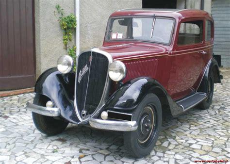 Fiat 508 Balilla Modena Design