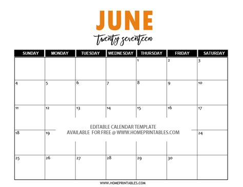 calendar template for june july august 2017 free editable 2017 calendar in word pretty template