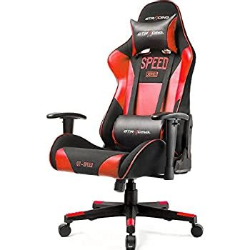 Amazon.com: GTRACING Fabric And PU Gaming Chair Racing