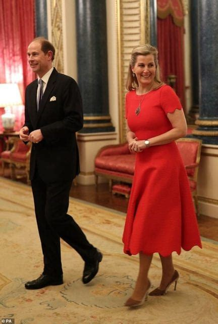 Sophie Wessex has 55th birthday at Buckingham Palace ...