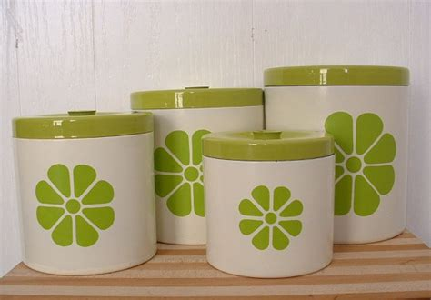 lime green kitchen canisters kitchen canister set with lids lime green design on 7093