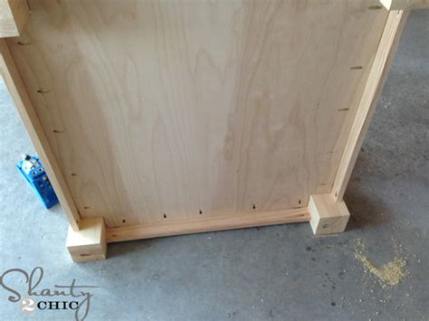 how to attach table top to legs diy square coffee table shanty 2 chic