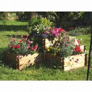 Jardin En Carré : cultivez un potager dans ce maxi carr de jardin en bois ~ Premium-room.com Idées de Décoration