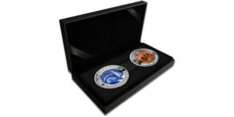 """Titāna monētu kolekcija """"Ceļojumiem kosmosā - 60 gadu ..."""