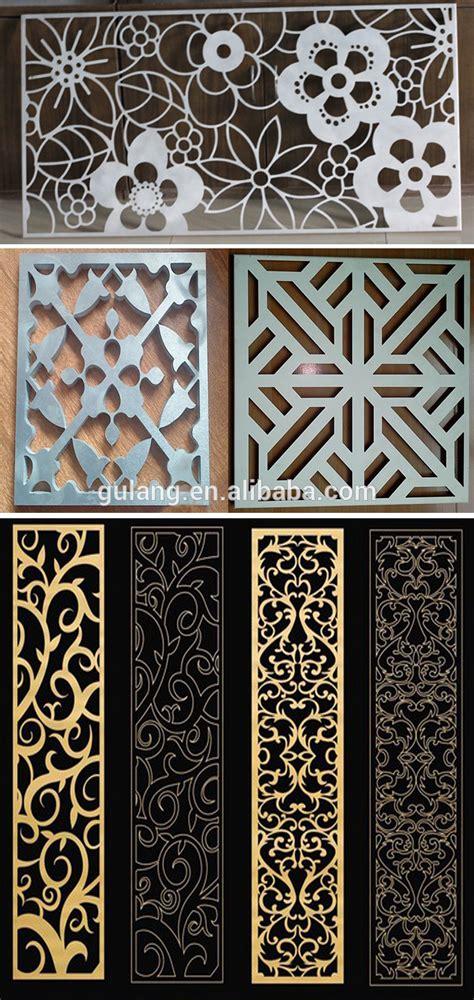 decorative sheet metal panels gold supplier china decorative aluminum sheet laser cut