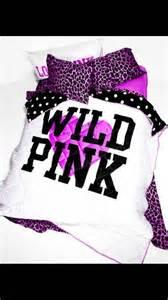 victoria secret pink bedding on the hunt