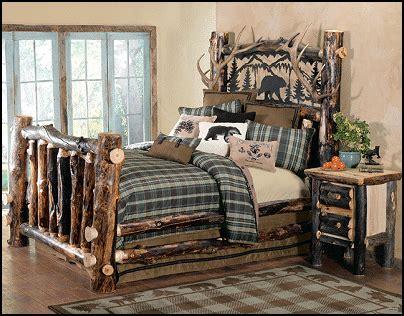 Decorating theme bedrooms Maries Manor: log cabin