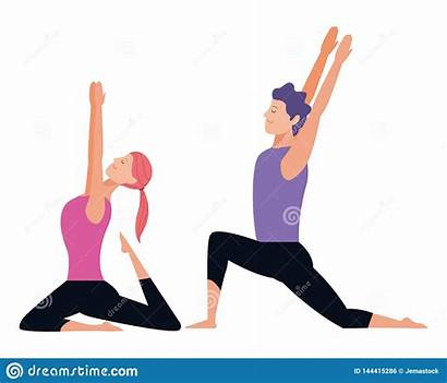 Yoga Poses Couple