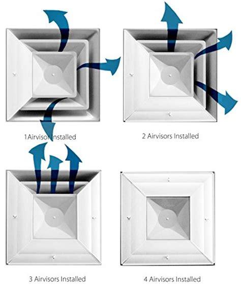 office ceiling air vent deflector new airvisor air deflector for office ceiling vents 24 x