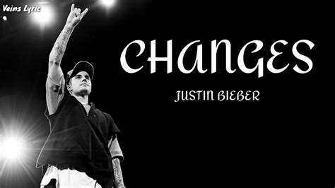 Justin Bieber - Changes ( LYRIC ) - YouTube