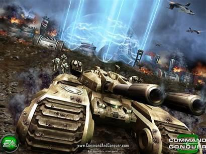 Gdi Tank Conquer Command Tiberium Wars War