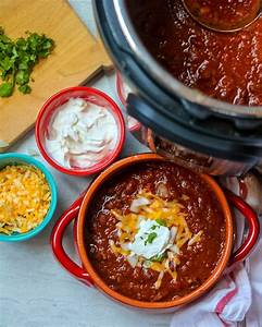 Instant Pot Chili Recipe With Instructions For Canned And