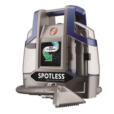 upholstery cleaning machine hoover spotless deluxe portable carpet upholstery