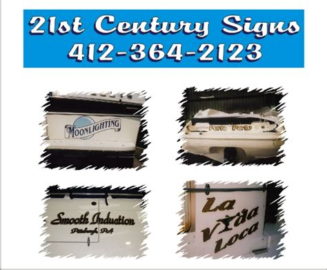 Boat Decals In Pittsburgh custom boat lettering boat marine decals 21st