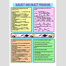 Subject Objectpronouns