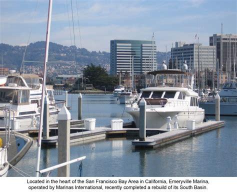 Emeryville Boat Slip by New Emeryville Marina By Bellingham Marine In San