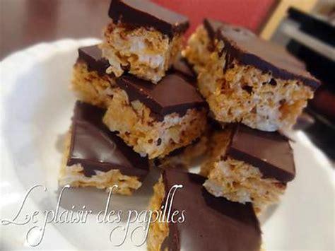 recette de barres de corn flakes au chocolat