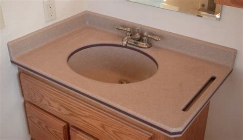 Corian Like Color Solid Surface Vanity Counter Tops With