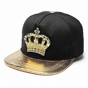 Mens Womens Snapback Hat KING Crown Baseball Caps ...