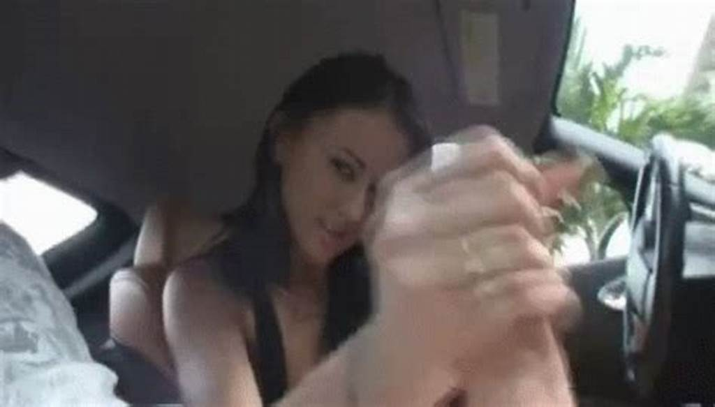 #Handjob #In #The #Car #Makes #Him #Cum