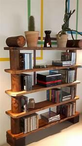 Bücherregal Selber Bauen Holz : b cherregal aus europaletten ~ Lizthompson.info Haus und Dekorationen