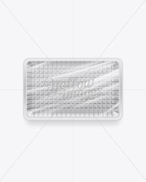 Place the label however you want. Download White Plastic Food Packaging Tray PSD in 2020 ...