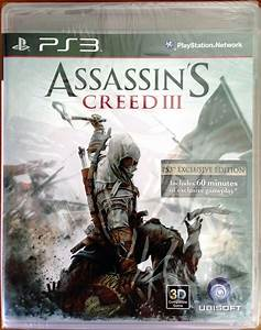 Assassin's Creed III for PS3 WCCFtech Giveaway