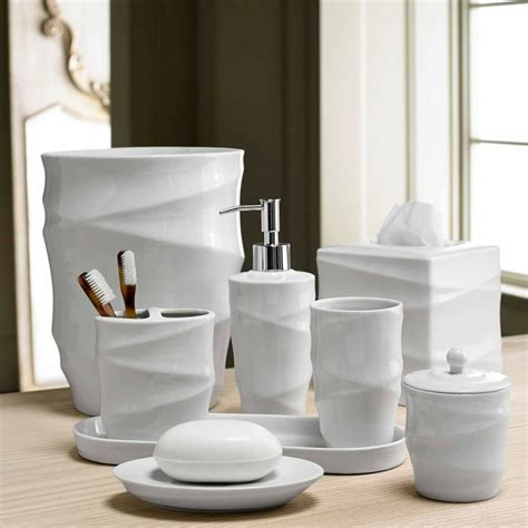 Accessories Set by Modern Line Bath Accessory Collection Ebay