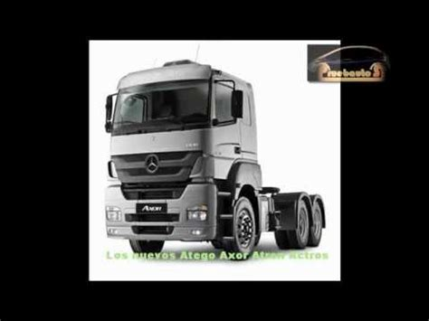 mercedes nueva linea de camiones argentina entrevista detalles de los productos youtube