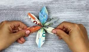 Geld Falten Blume Rose Anleitung : blumen aus geld basteln amazing geld falten blumen with ~ Lizthompson.info Haus und Dekorationen