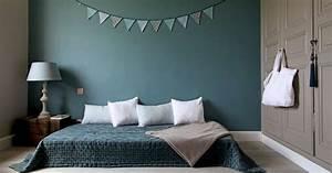 Deco Chambre Ami : bleu canard dans votre chambre coucher voici comment l 39 int grer ~ Melissatoandfro.com Idées de Décoration