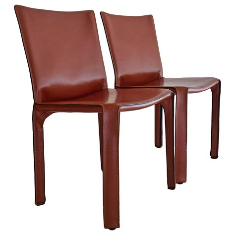 1977 cab chairs by mario bellini for cassina for sale at