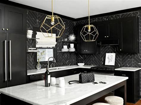 black and white kitchen backsplash 17 best ideas about black kitchen cabinets on