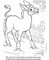 Coloring Farm Animal Oat Donkey Animals Ausmalbilder Bauernhoftiere Sheets Drawn Printable Printables Horses Malvorlagen Konabeun Cows Templates Pencil Raisingourkids sketch template