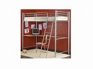 Lit Mezzanine Ado : un lit mezzanine pour ado le journal de la maison ~ Teatrodelosmanantiales.com Idées de Décoration