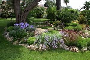 Jardin Paysager Exemple : enrochement paysager adonis paysages ~ Melissatoandfro.com Idées de Décoration