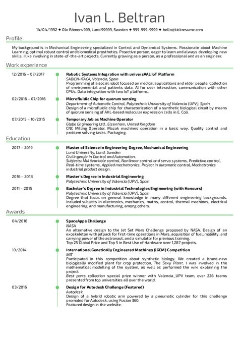 Software Engineer Resume Template by Resume Exles By Real Sabien Itaca Software