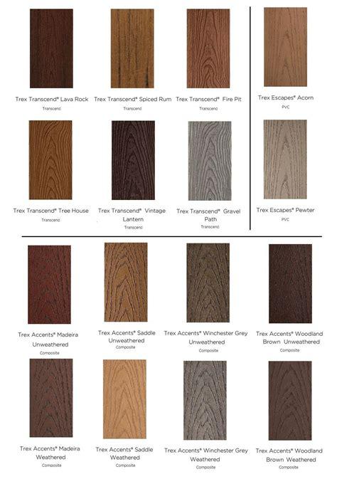 Composite Deck Board Colors