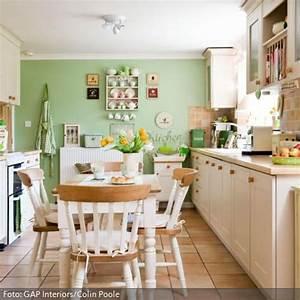 Wandfarbe Grün Palette : steinfliesen und gr ne wandfarbe wohnung wandfarbe wandfarbe gr n und k che farbe ~ Watch28wear.com Haus und Dekorationen